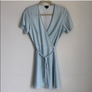 Super cute wrap dress